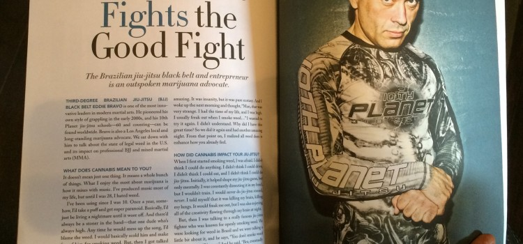 Eddie Bravo Fights the Good Fight — New Piece in mg