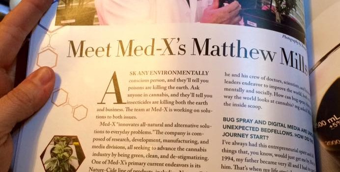 MedX's Matthew Mills — New Piece in mg