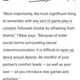 Fun and (Sex) Games — Commentary for Bustle